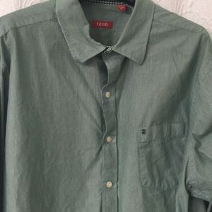 IZOD buttoned down collared shirt